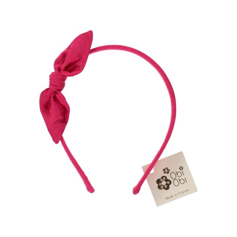 Plain Bow Headband