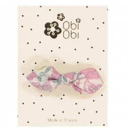 Barrette Noeud Liberty Betsy Rose Givre