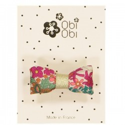 Lot de 12 Barrettes Mini Bonbon Liberty