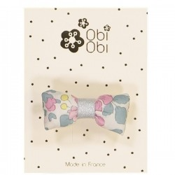 Liberty Mini Bonbon Hair Clip Betsy Rose Givre