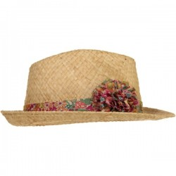 Margaret Annie Liberty Pom Straw Hat