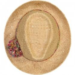 Chapeau Paille Liberty Pompon Margaret Annie