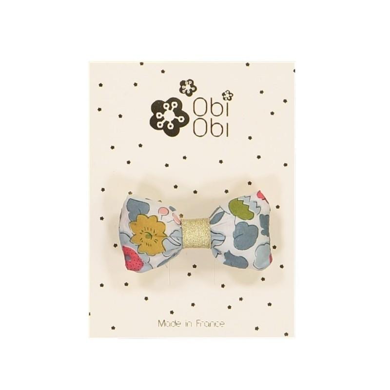 Barette Mini Bonbon Porcelaine