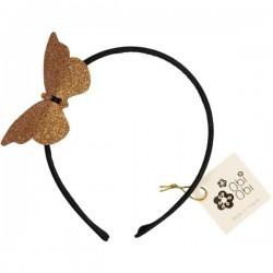 Gold Butterfly Headband