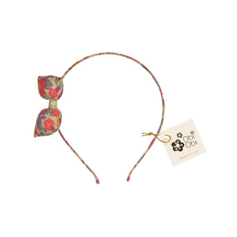 Fluo Thé Bonbon Bow Headband girl