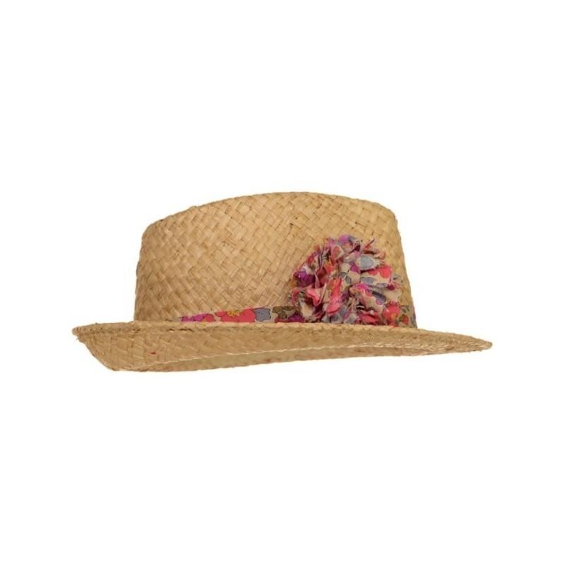 Chapeau Maxi Pompon Fluo Thé