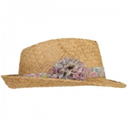 Betsy Rose Givré Liberty Pom Straw Hat