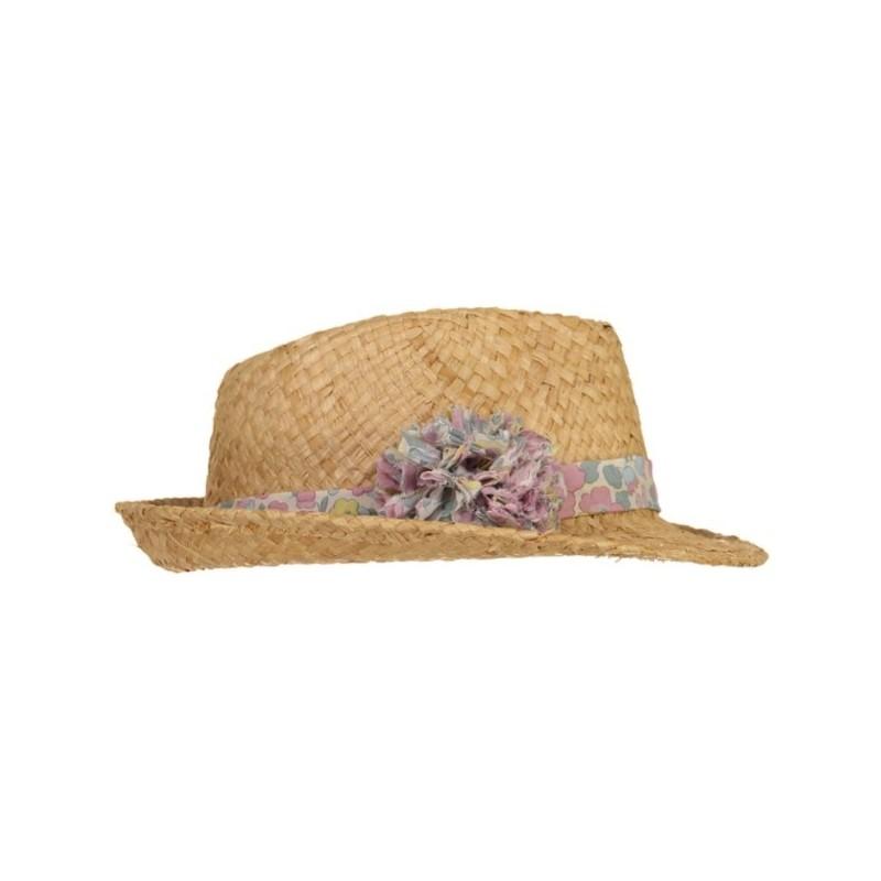Chapeau Maxi Pompon Betsy Rose Givré