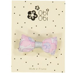 Lot de 12 Barrettes Mini Bonbon Liberty. Mix 3 couleurs.