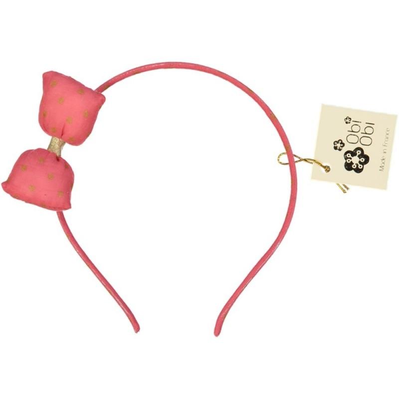 Set of 6 Maxi Bonbon Dots Headbands. Mix 3 colours.