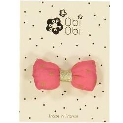 Mini Bonbon Coral Pink Hair Clip