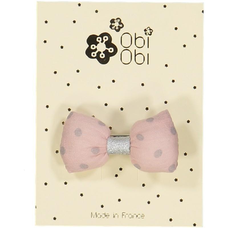 Candy Pink Mini Bonbon Dots Hairclip