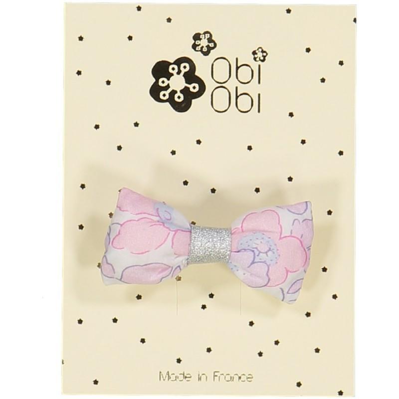 Barrette Mini Bonbon Liberty Rose Buvard
