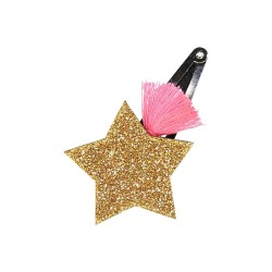 Set of 12 Shooting Star Hair Clip. Mix of 3 colours
