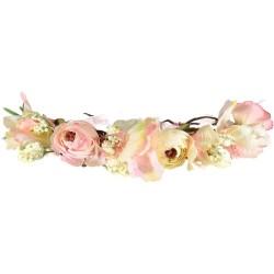 couronne de fleur rose mariage couronne de fleur enfant cortege mariage couronne fleur demoiselle honneur