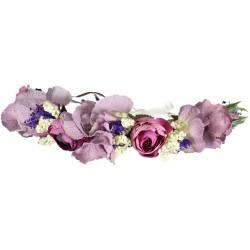 Couronne Fleurs Mariage Bohème
