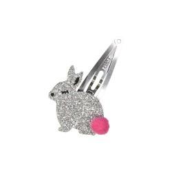 Neon Pink Pineapple Hair Clip