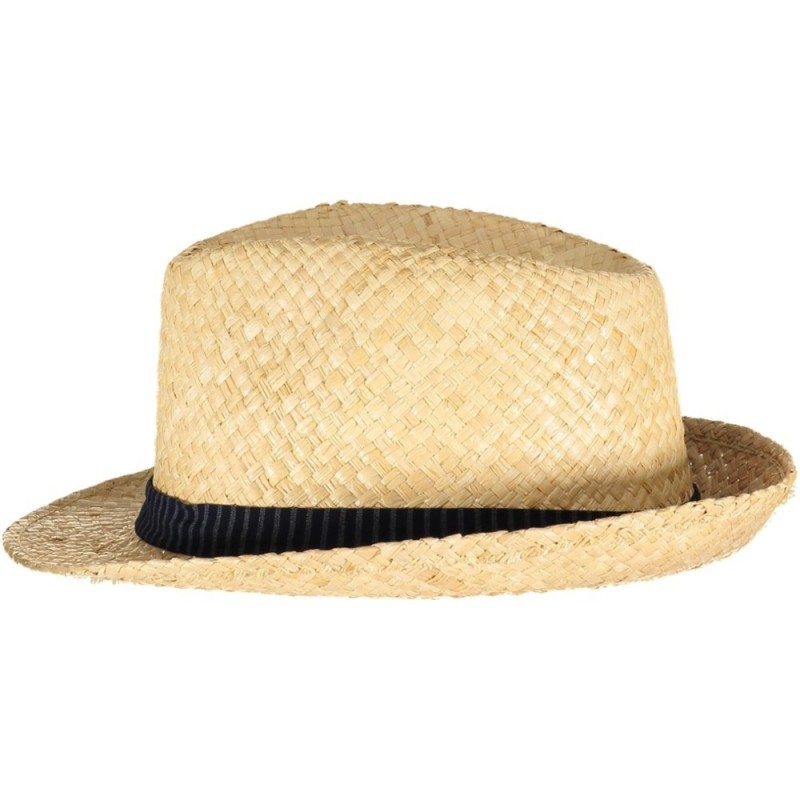 Dark Blue Stripes Straw Hat