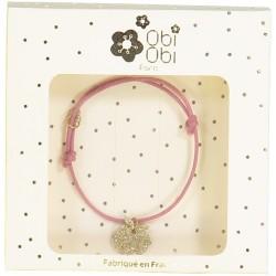 bracelet rose pomme