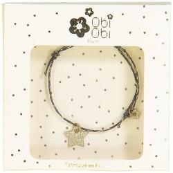 star bracelet glitter