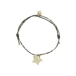 bracelet étoile doré