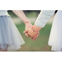 bracelet amitié cœur enfant