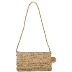 sac à main raphia crochet