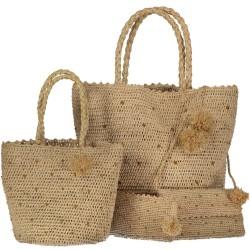 sac raphia malgache luxe