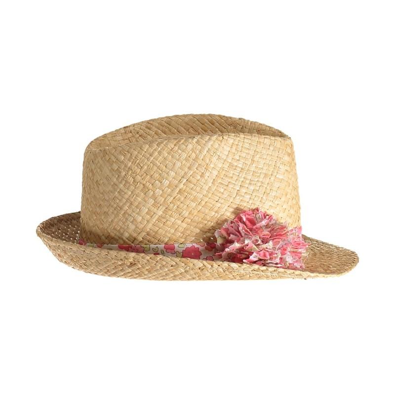 Chapeau de paille femme été