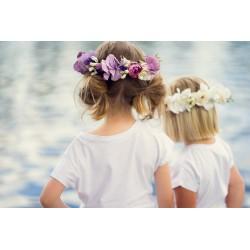 Couronnes Fleurs Enfant cérémonie