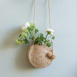 Round bag crochet