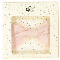 Big pink bow hair clip girls headwear