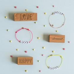Bracelet love happy dream
