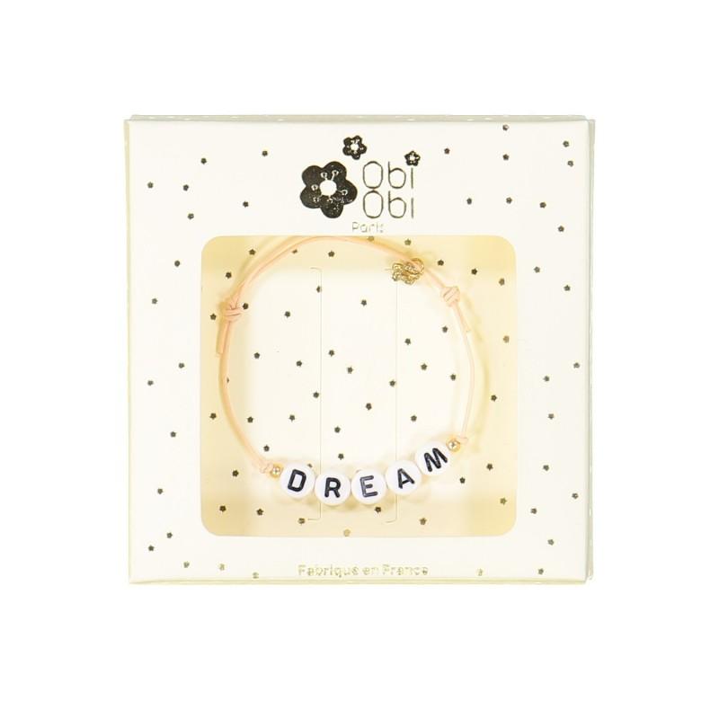 dream bracelet message letters