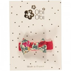 Baby Hair clip - Liberty Cherry