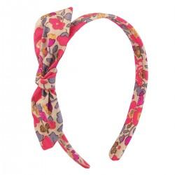 Betsy Fluo Thé Liberty Bow Headband