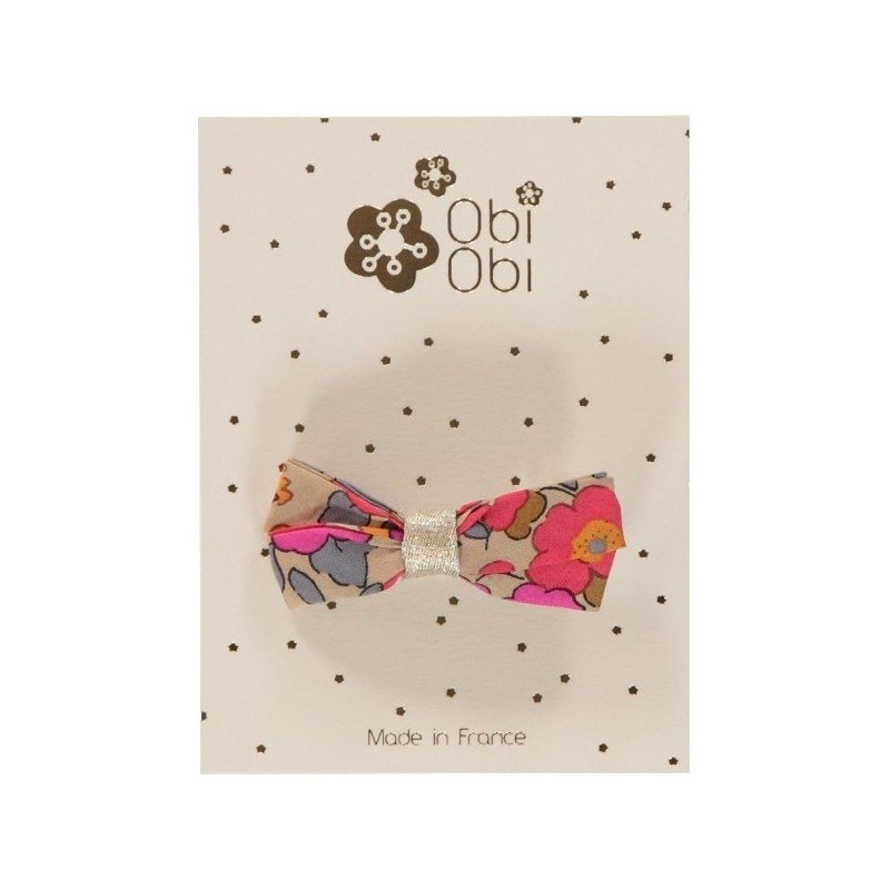 Liberty Hair clip - Betsy Fluo Thé