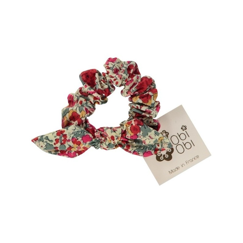 Cherry Liberty Scrunchy