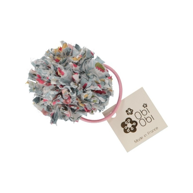 Porcelaine Maxi Pom Liberty Hair Band