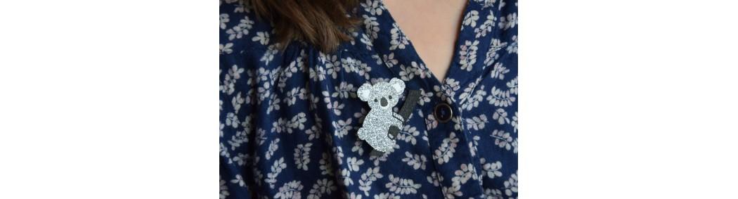 Fine brooches for women and children | OBI OBI Paris